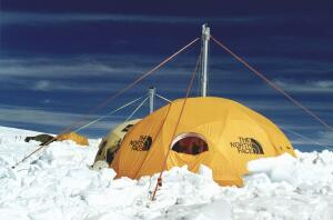Ice core device at ILLIMANI